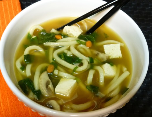 Vegetable Udon Noodle Soup | www.vegetariant.com